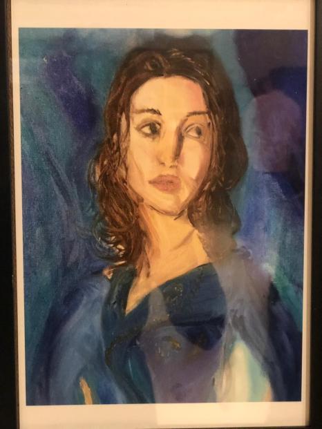 Portrait by Chloe Posthuma Coelho