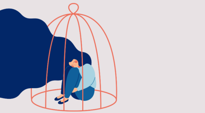 Illustration from The Brazilian Report regarding domestic abuse